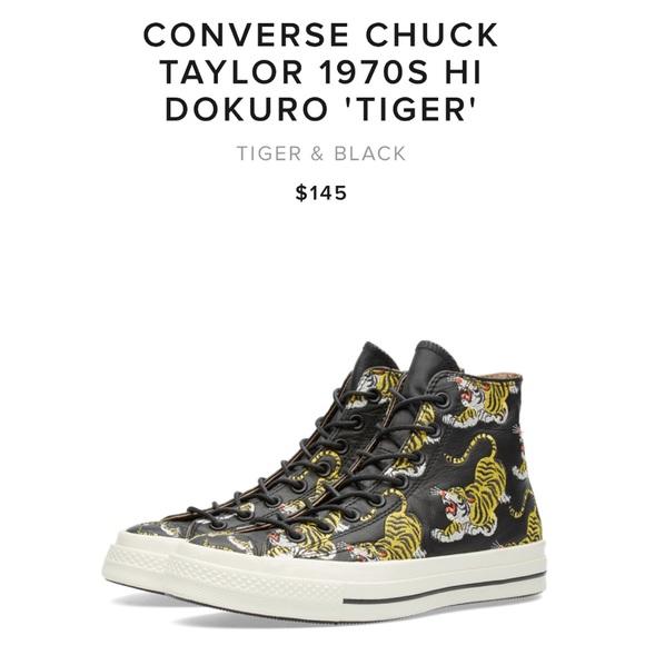 6cec821876220b CONVERSE Chuck Taylor Hi Dokuro Tiger